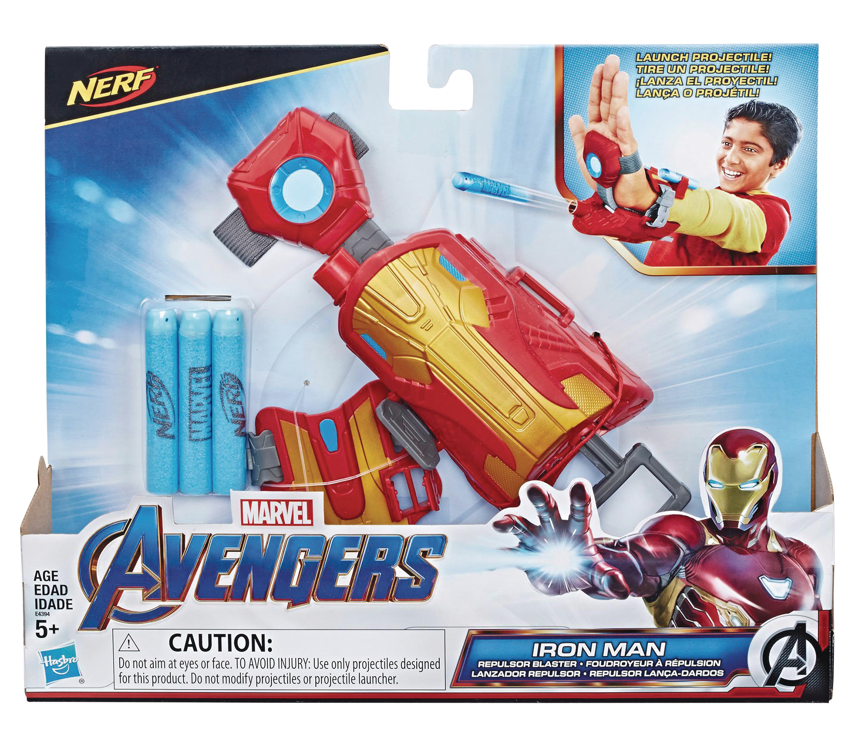 AVENGERS 4 MOVIE IRON MAN REPULSOR ROLEPLAY CS