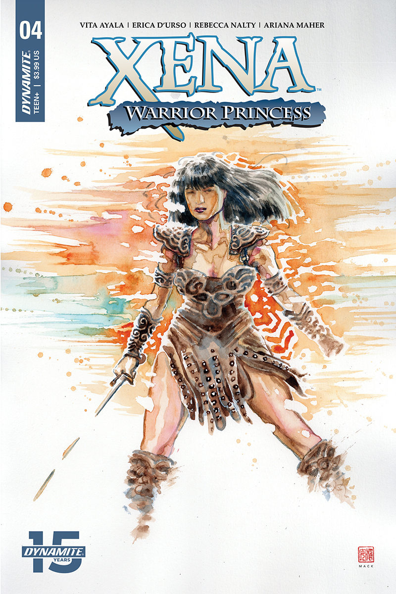XENA WARRIOR PRINCESS #4 CVR A MACK