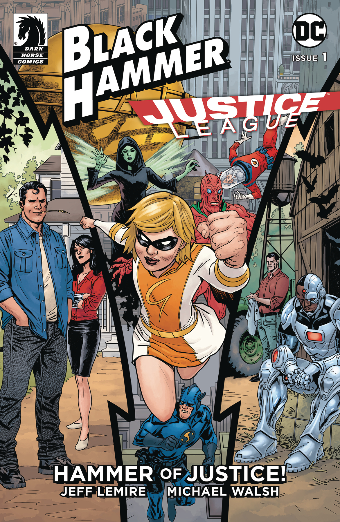 BLACK HAMMER JUSTICE LEAGUE #1 (OF 5) CVR C PAQUETTE