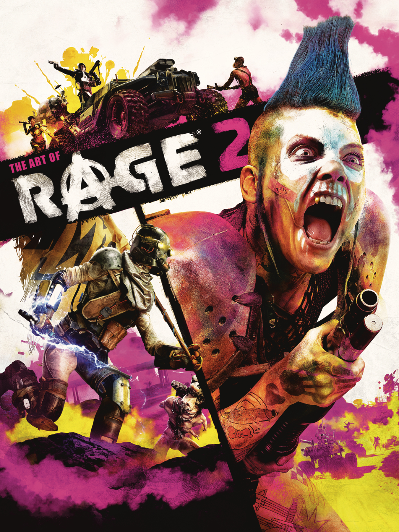 ART OF RAGE 2 HC
