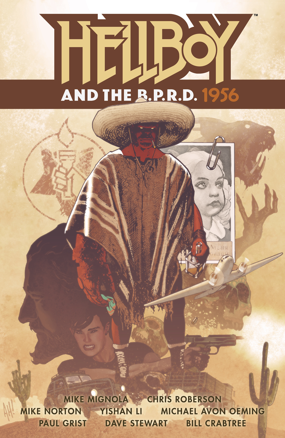 HELLBOY AND BPRD 1956 TP (MAY190287)