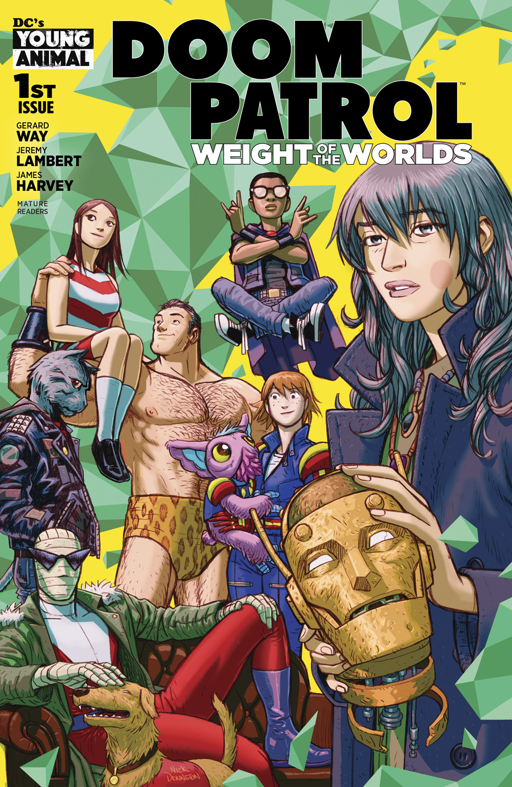 May190367 Doom Patrol Weight Of The Worlds 1 Mr Previews World