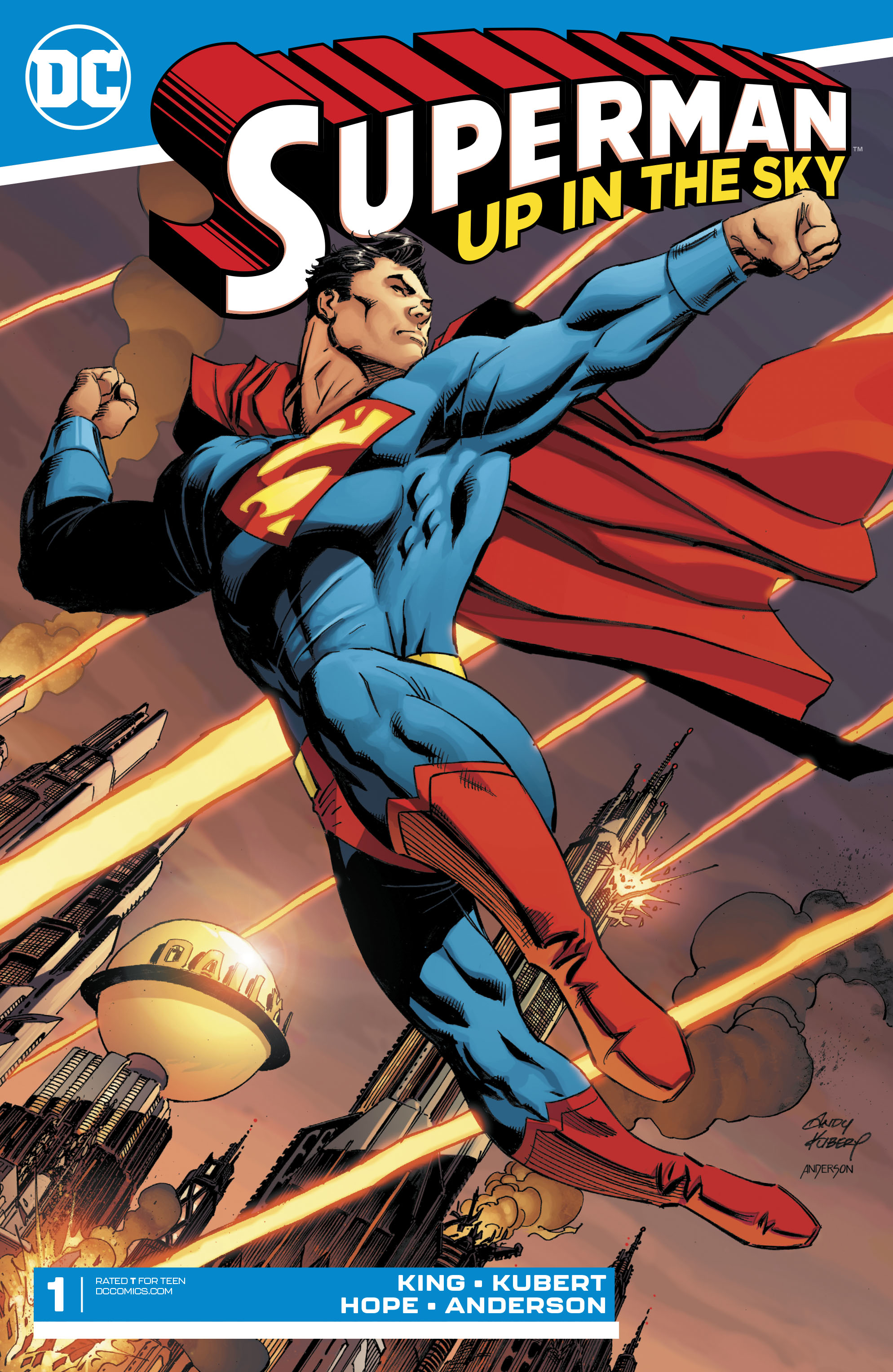 SUPERMAN UP IN THE SKY #1 (OF 6)