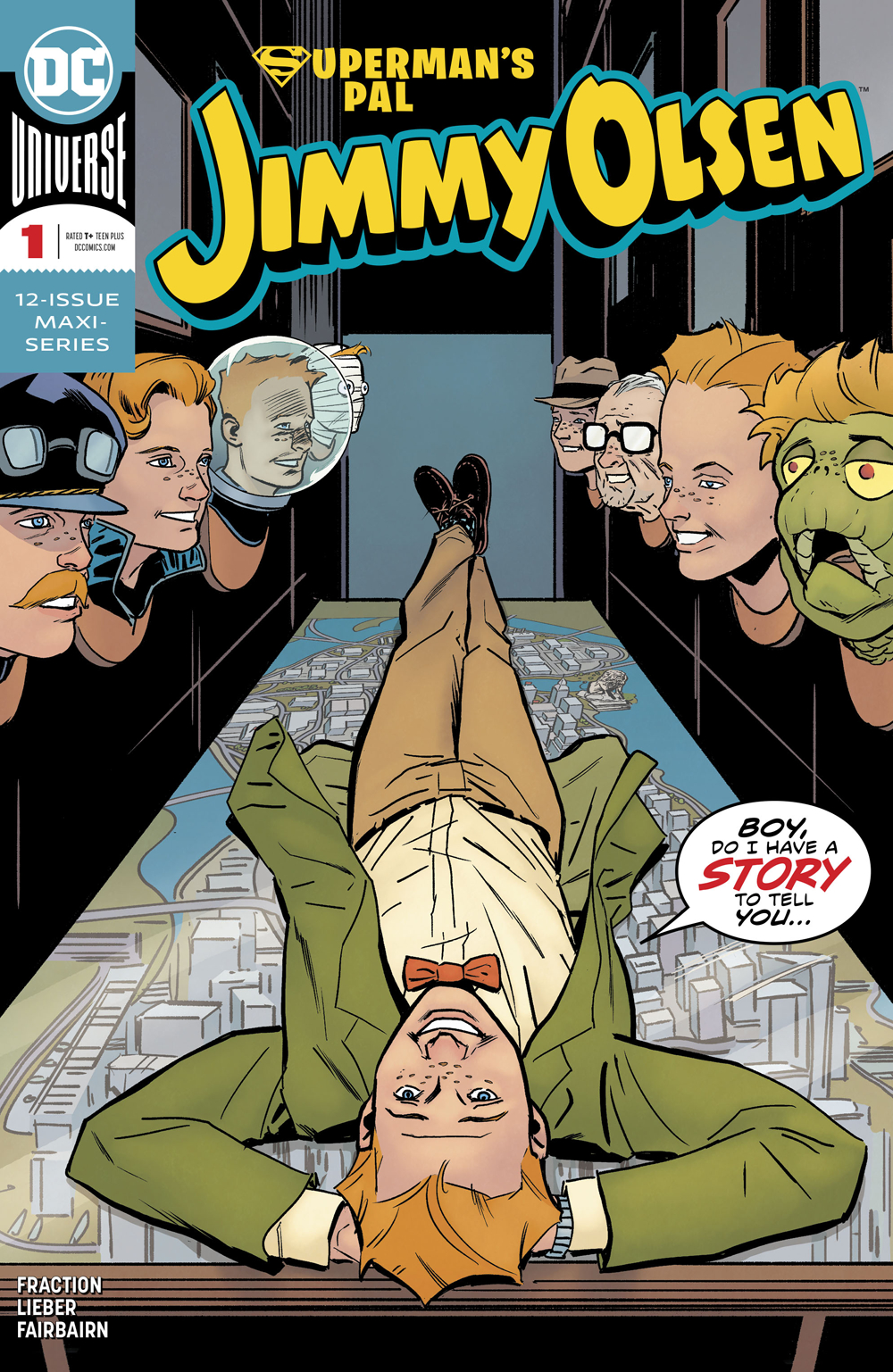 SUPERMANS PAL JIMMY OLSEN #1 (OF 12)