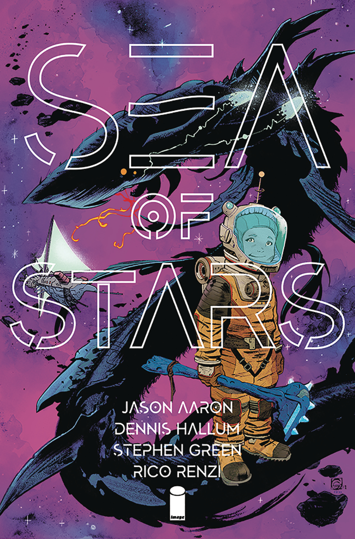 (USE JUN198337) SEA OF STARS #1 CVR A GREEN