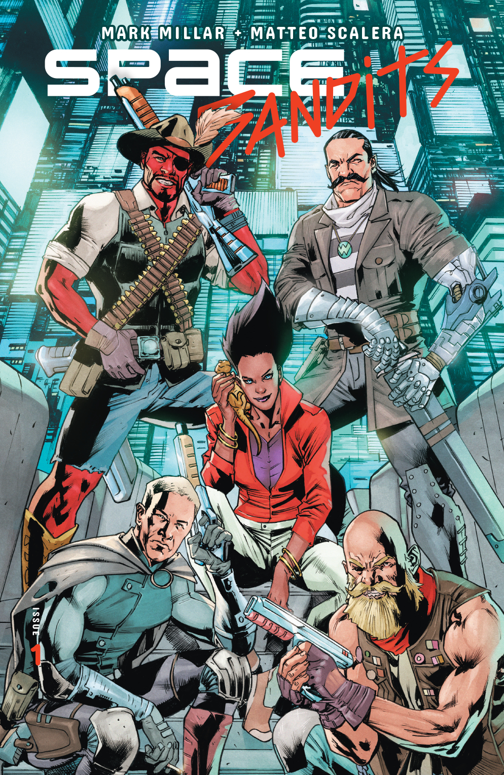 SPACE BANDITS #1 (OF 5) CVR D HITCH (MR)