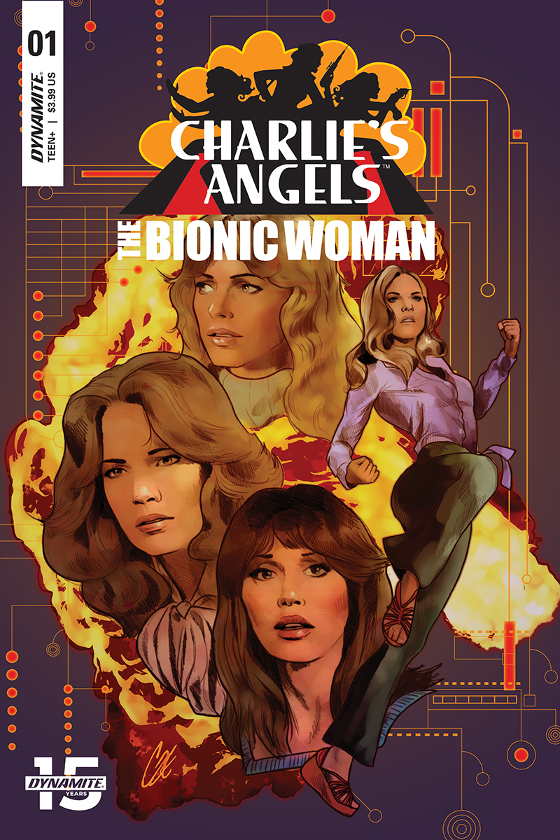 CHARLIES ANGELS VS BIONIC WOMAN #1 CVR A STAGGS