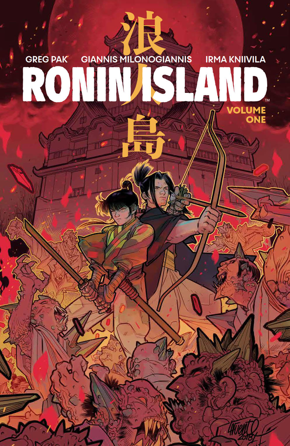 RONIN ISLAND TP VOL 01 PX DISCOVER NOW ED