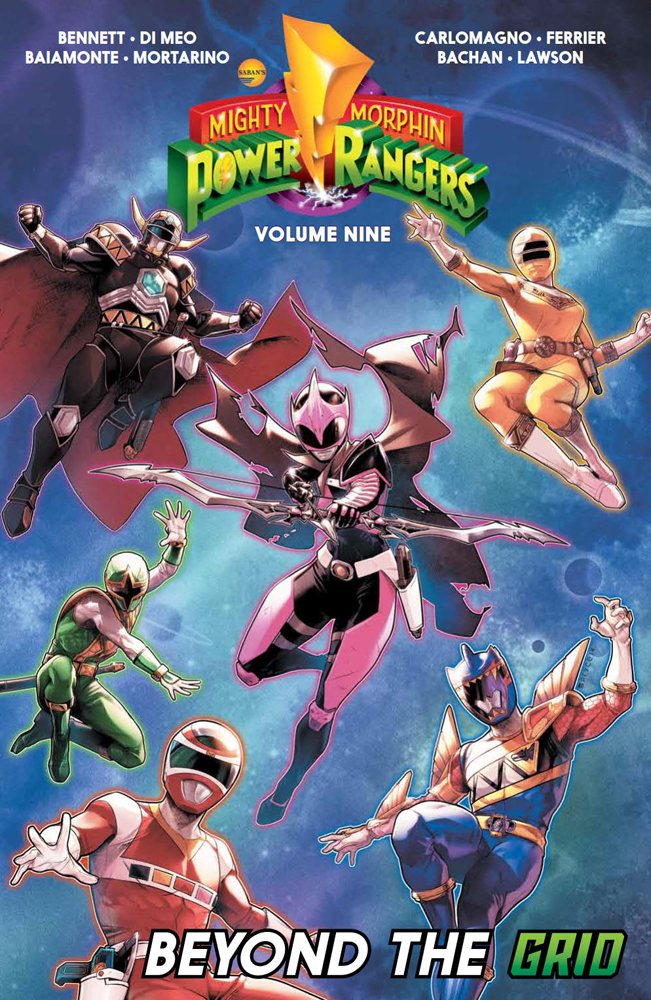 MIGHTY MORPHIN POWER RANGERS TP VOL 09