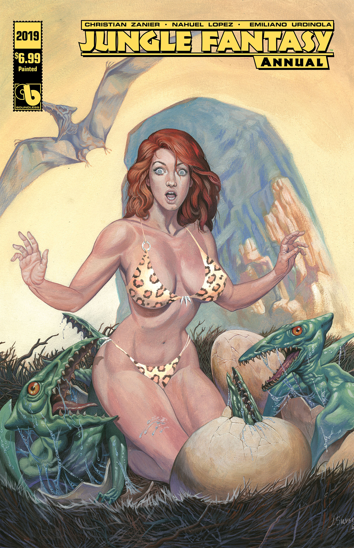 JUNGLE FANTASY ANNUAL 2019 PAINTED (MR)