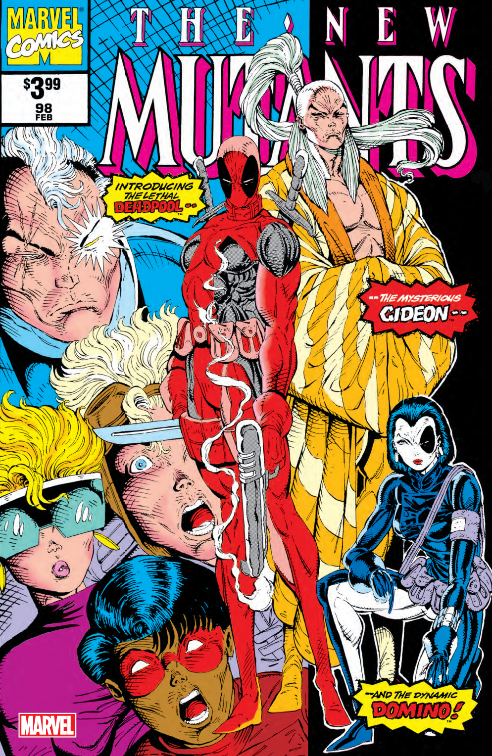 NEW MUTANTS #98 FACSIMILE EDITION