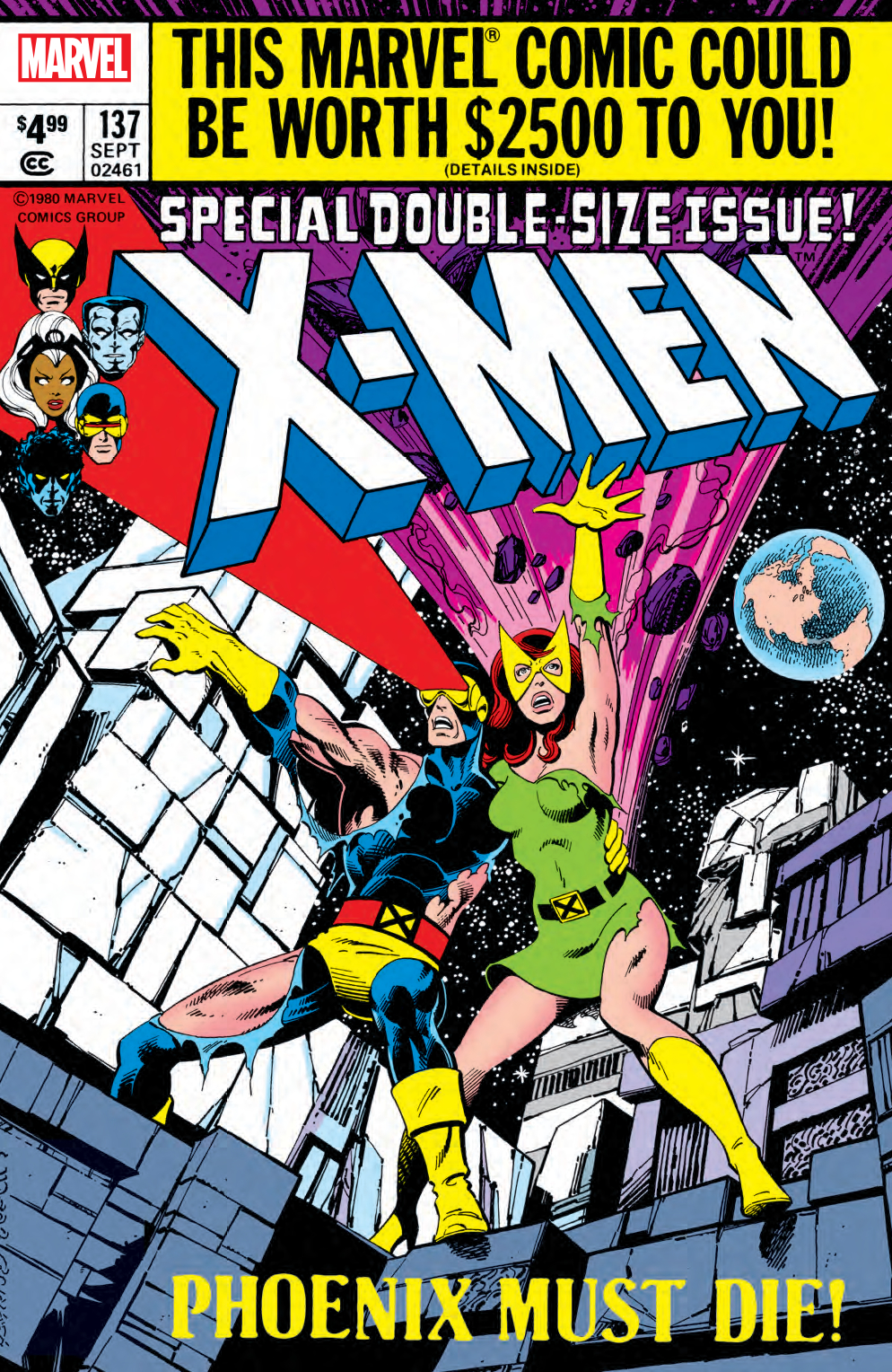 X-MEN #137 FACSIMILE EDITION
