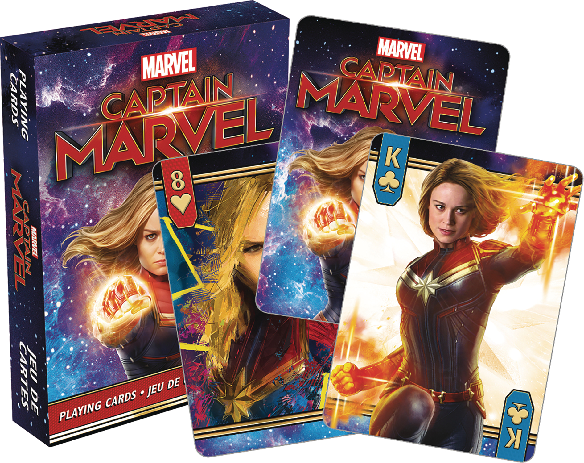 MARVEL CAPTAIN MARVEL MOVIE PLAYING CARDS