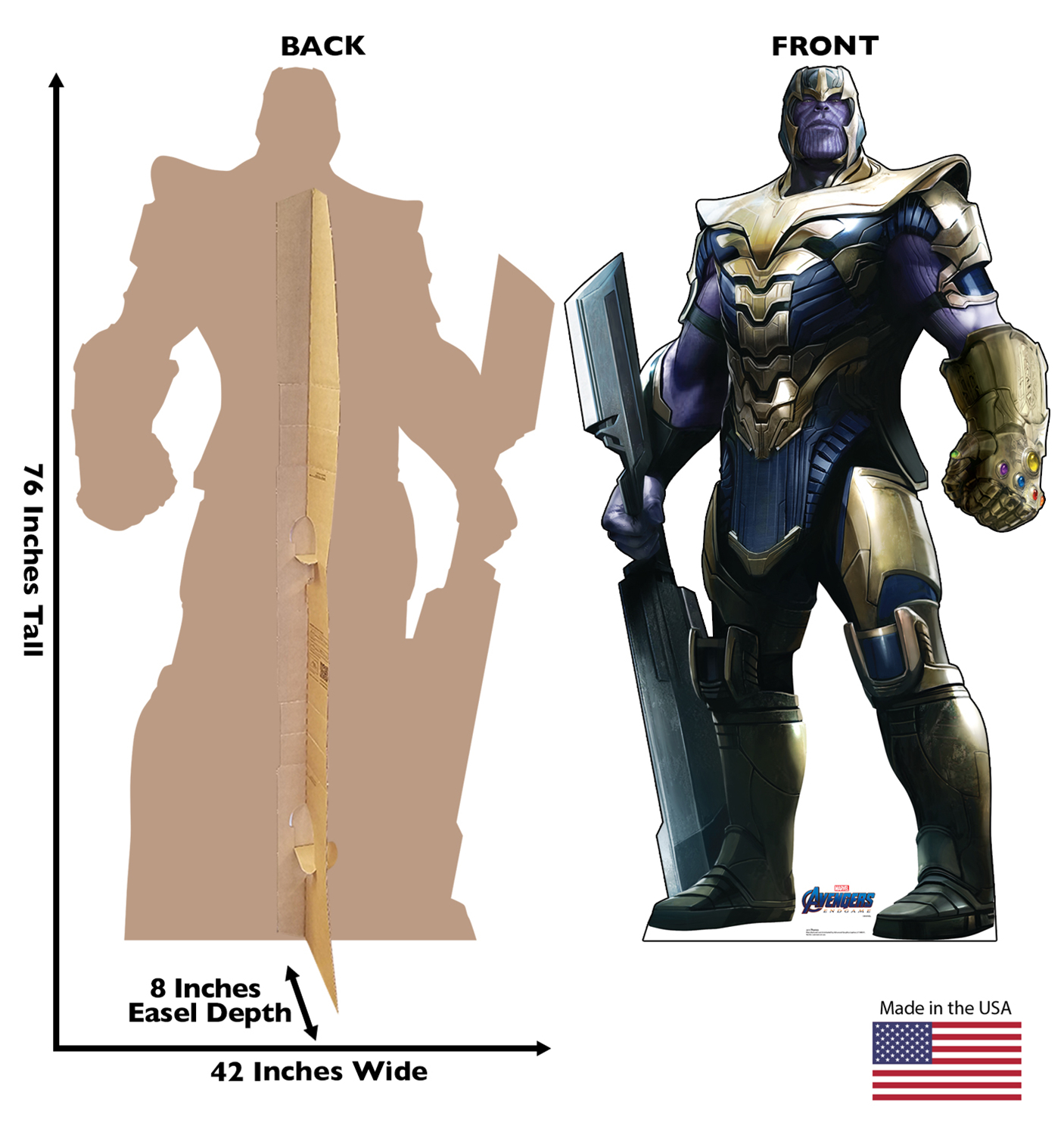 AVENGERS ENDGAME THANOS LIFE-SIZE STAND UP