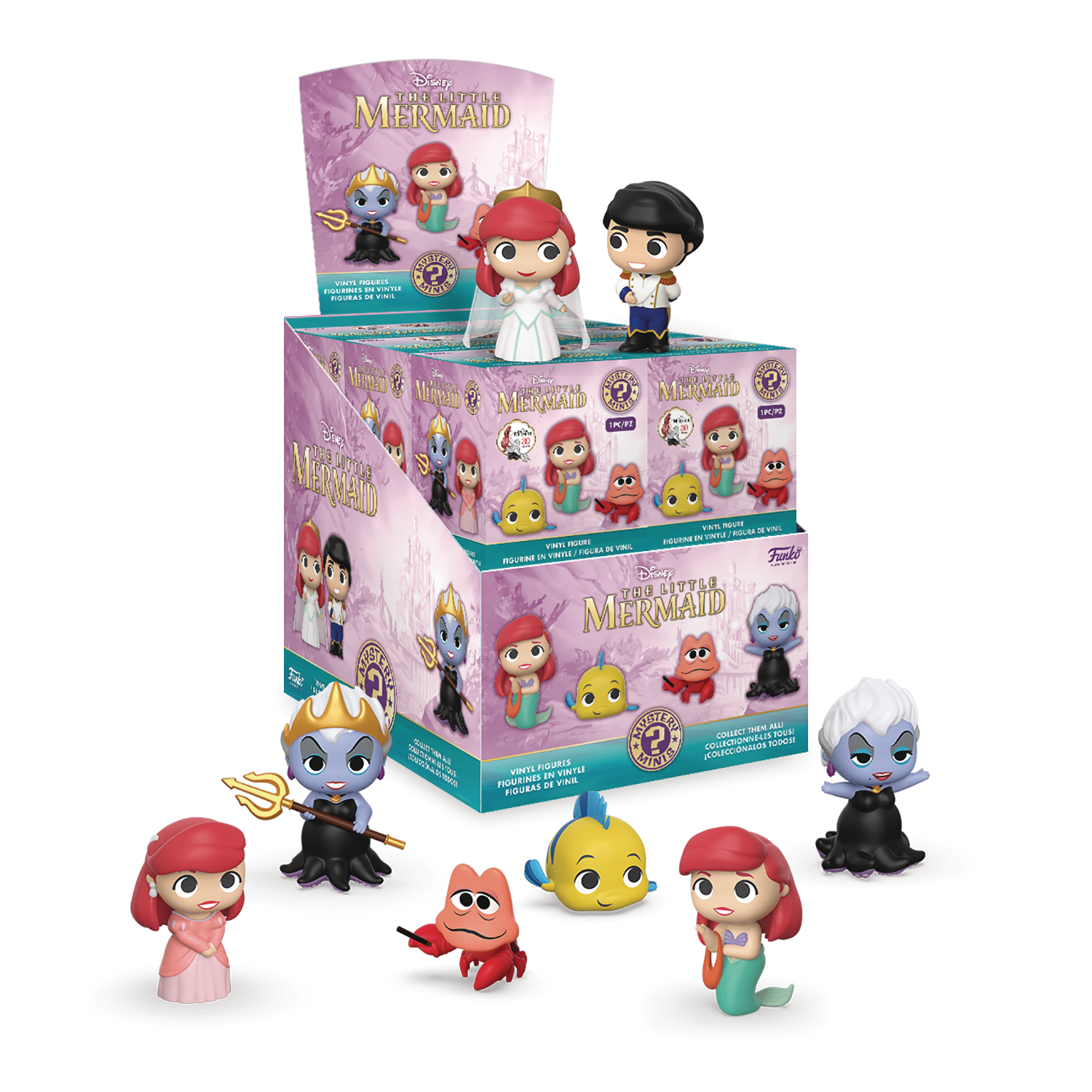 MYSTERY MINIS LITTLE MERMAID SERIES 2 12PC BMB DISP