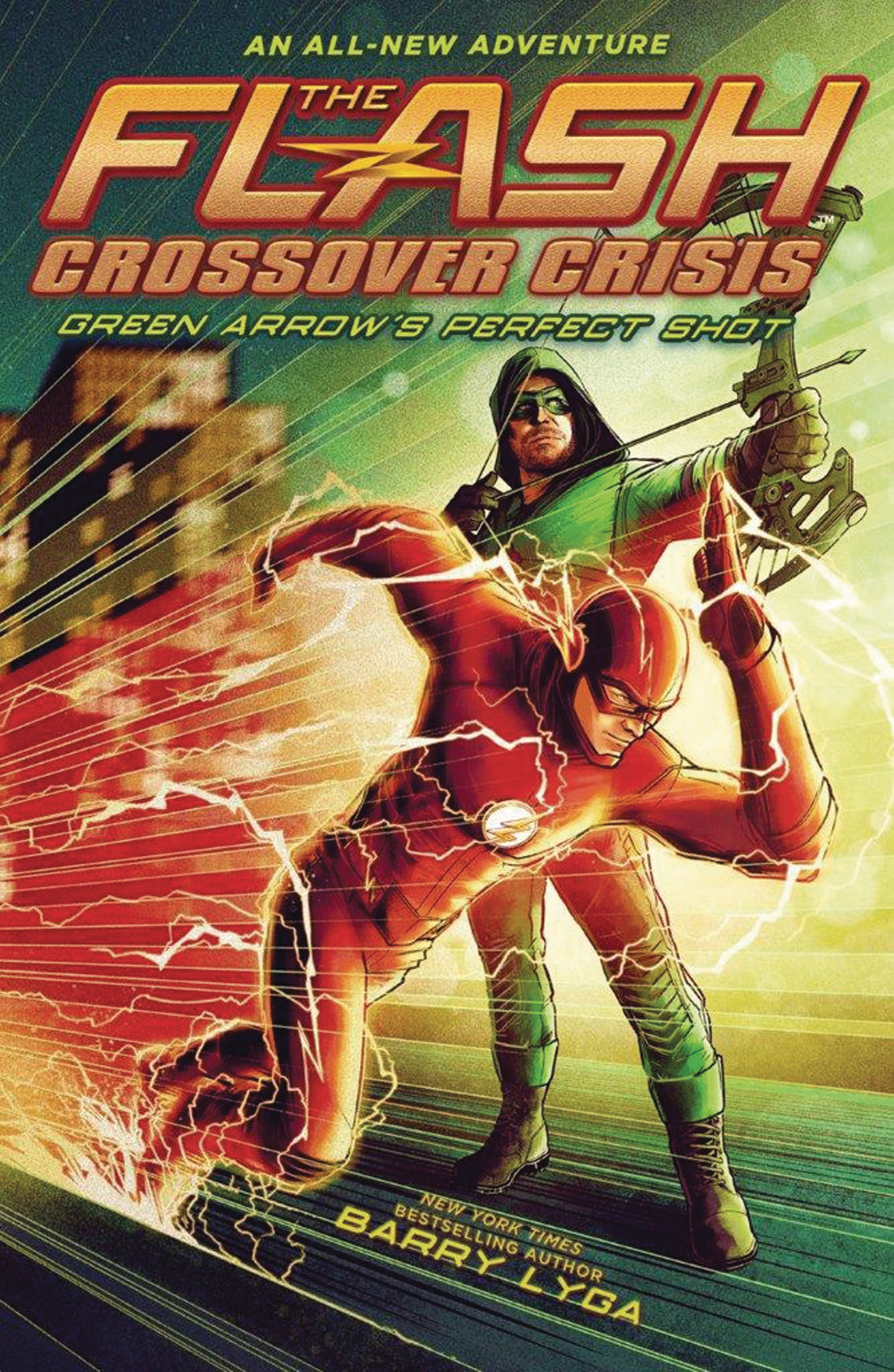 FLASH CROSSOVER CRISIS HC VOL 01 GREEN ARROWS PERFECT SHOT (