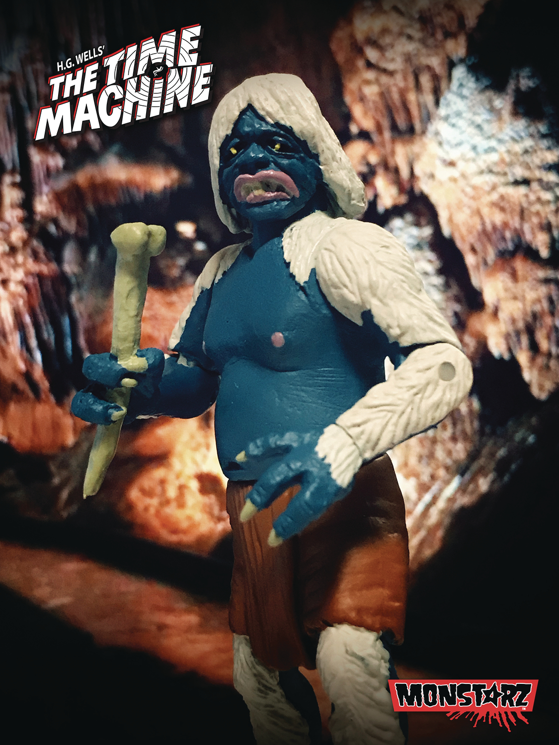 TIME MACHINE MIDNIGHT ATTACK MORLOCK 3-3/4IN RETRO AF