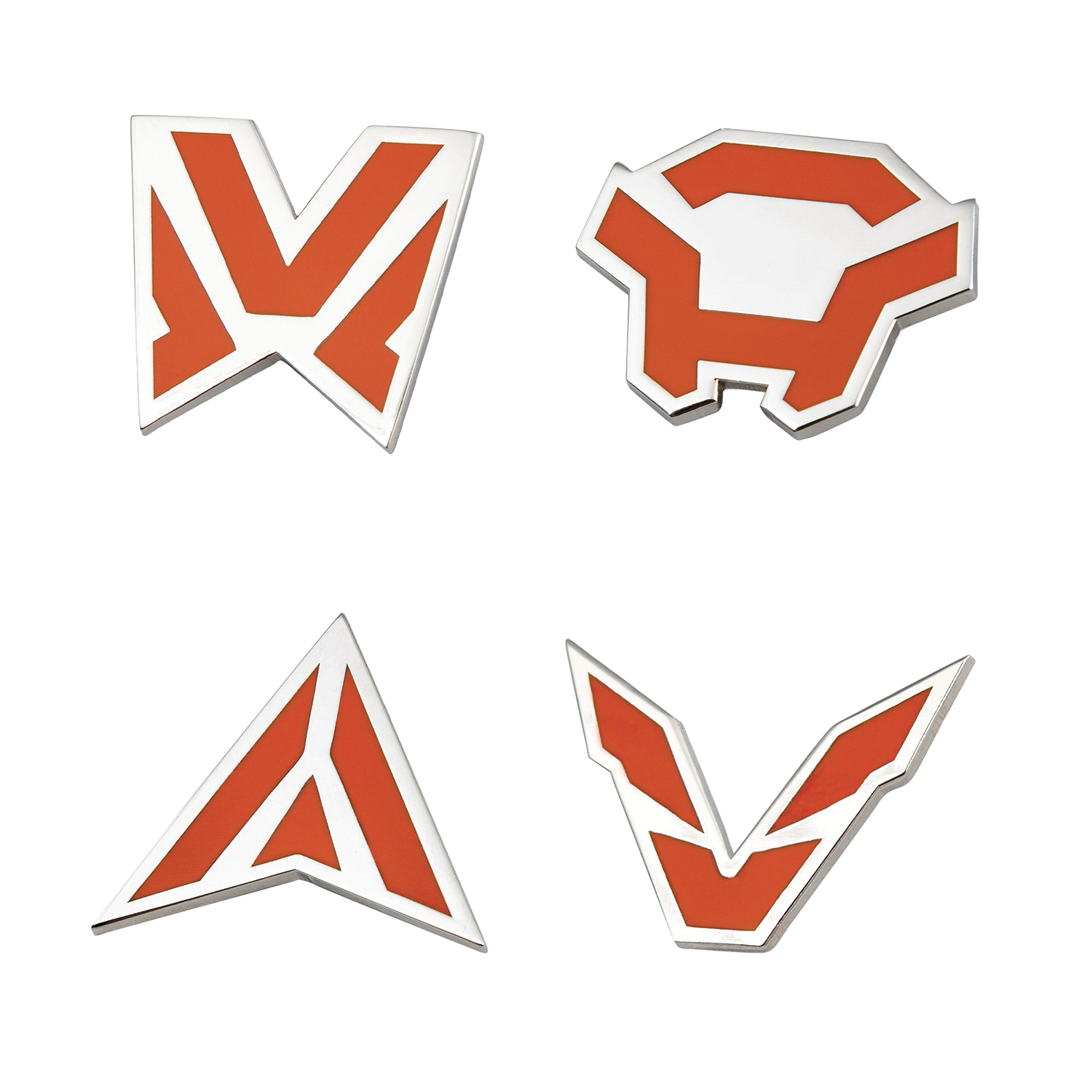ANTHEM JAVELIN ICONS 4 PACK PIN SET