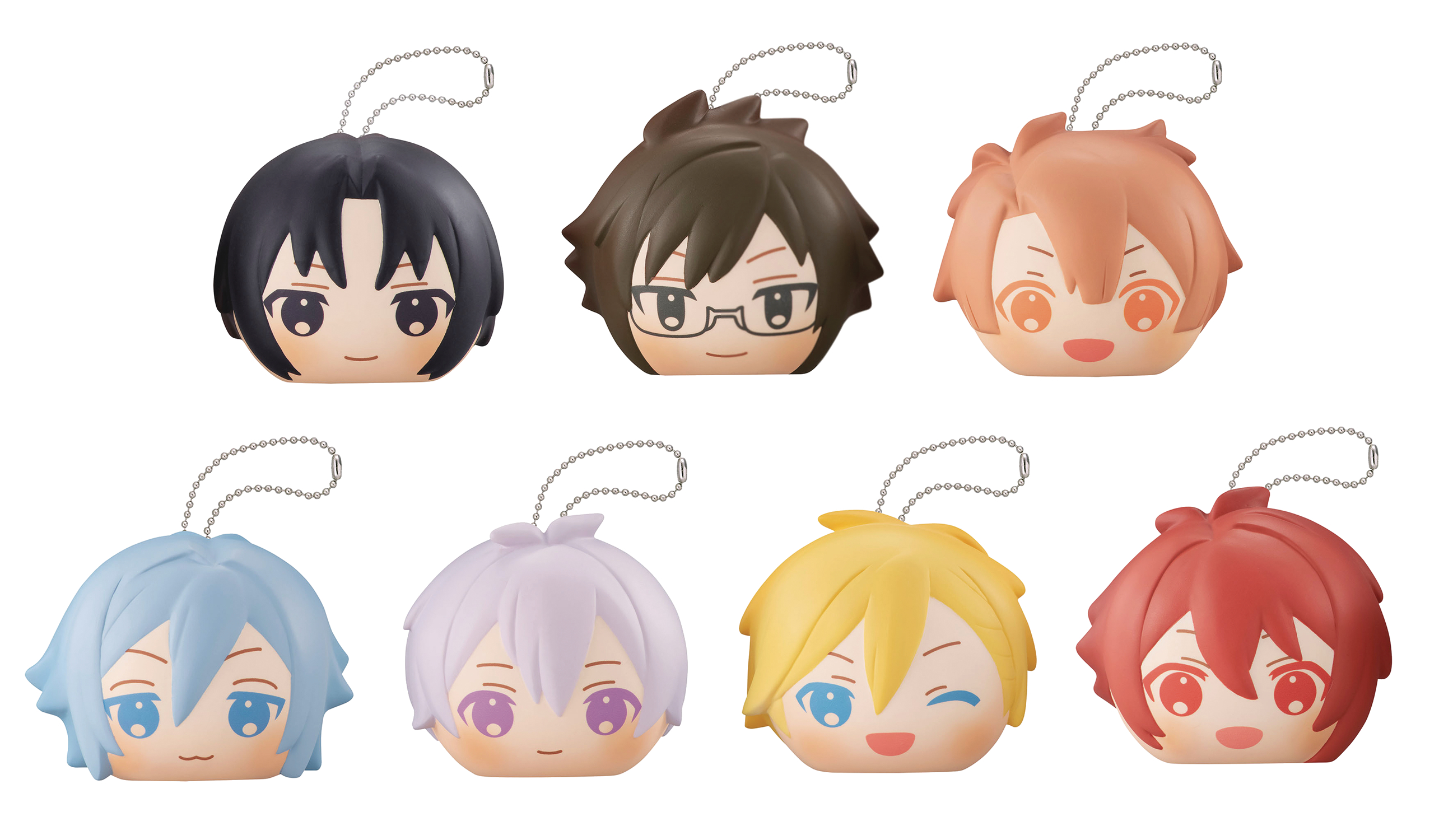 IDOLISH7 FLUFFY SQUEEZE BREAD 8PC BMB DS