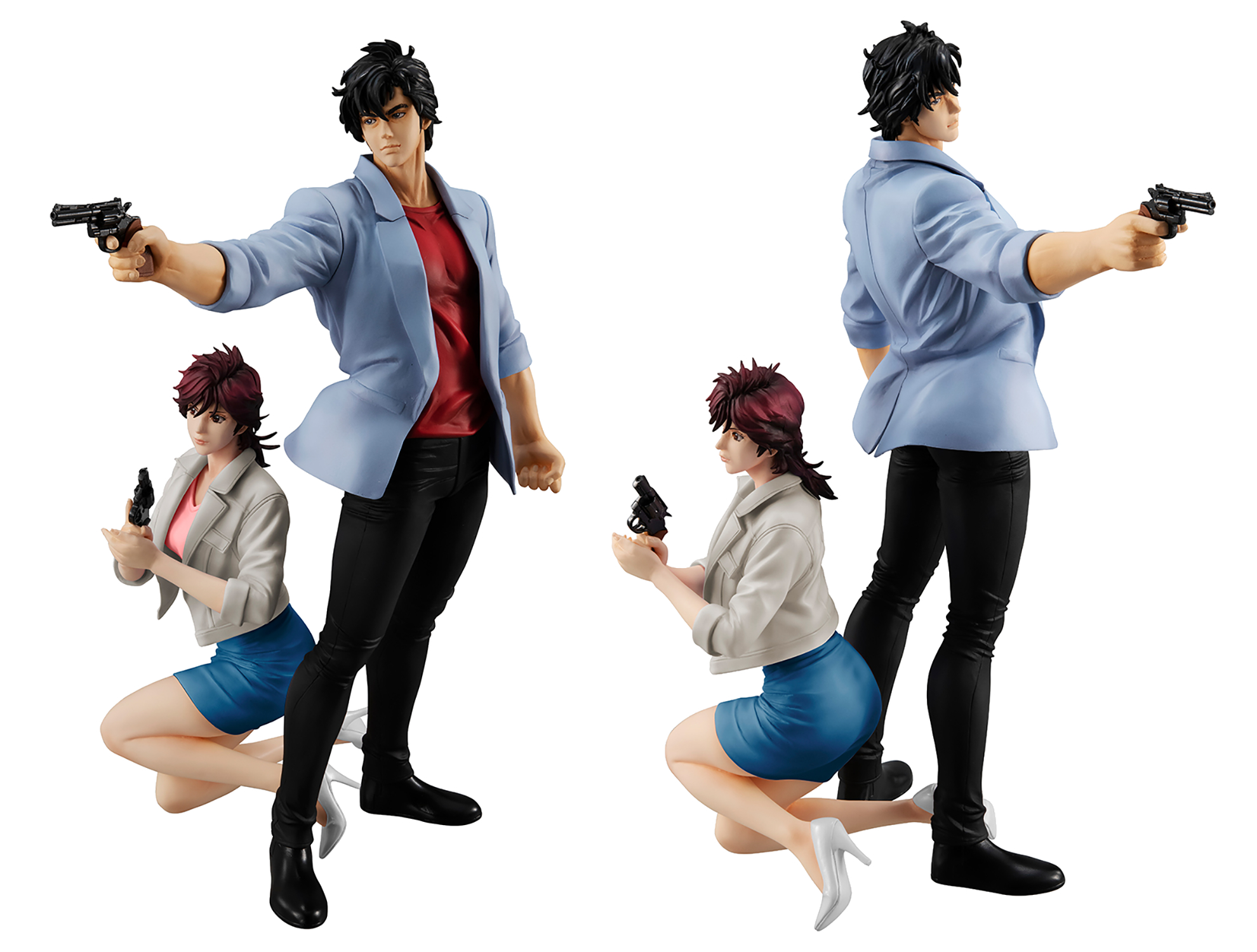 GEM SERIES CITY HUNTER RYO SAEBA & KAORI MAKIMURA PVC FIG (C