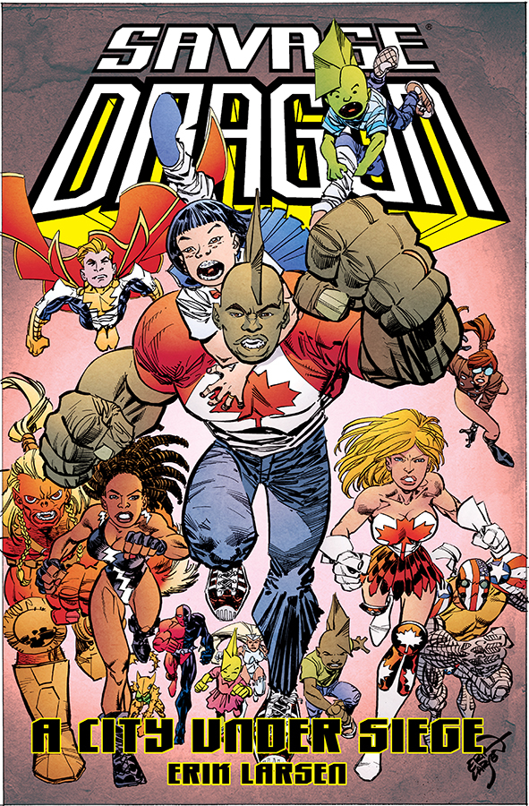 SAVAGE DRAGON CITY UNDER SIEGE TP (JUN190041) (MR)