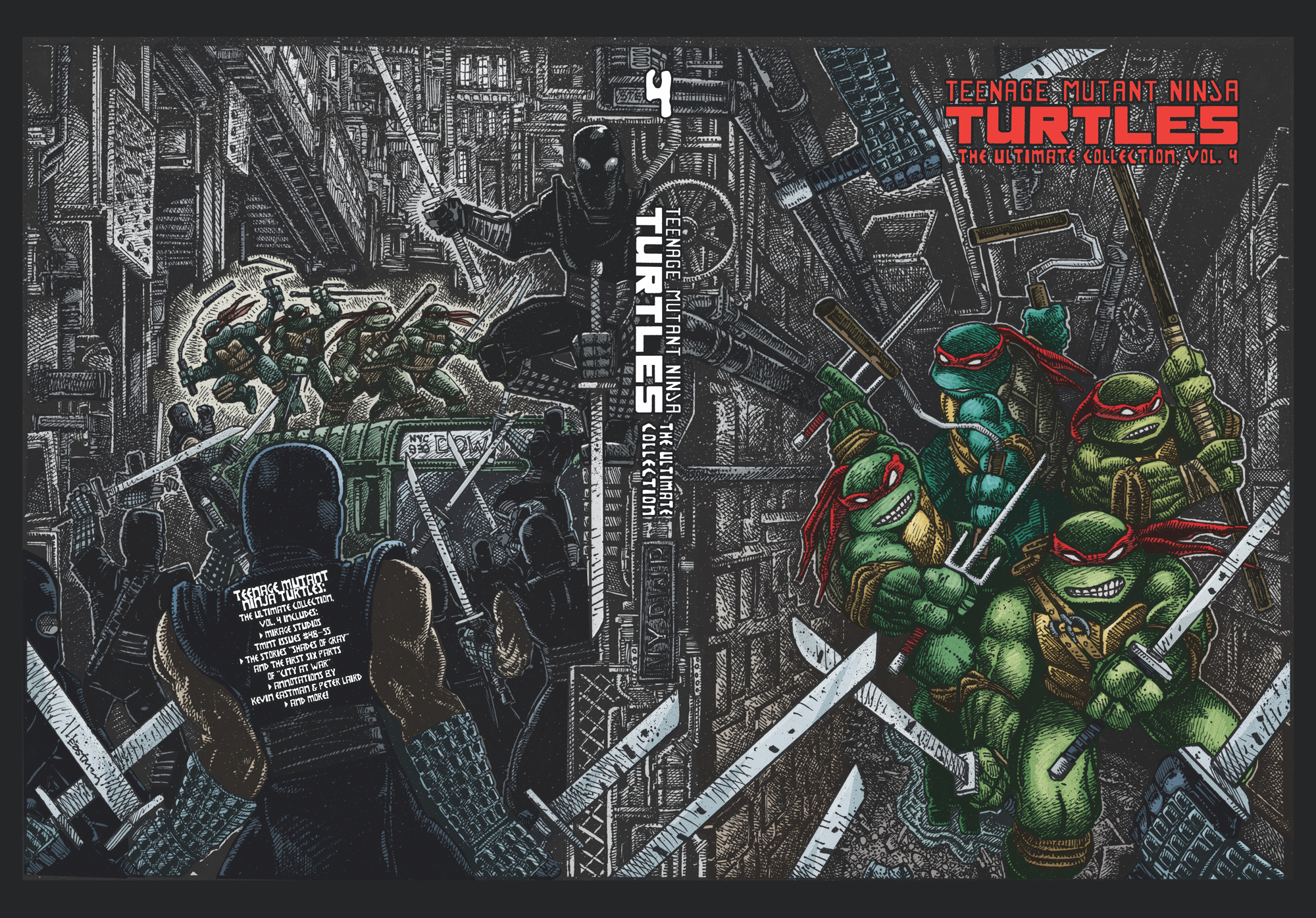 TMNT ULTIMATE COLL TP VOL 04
