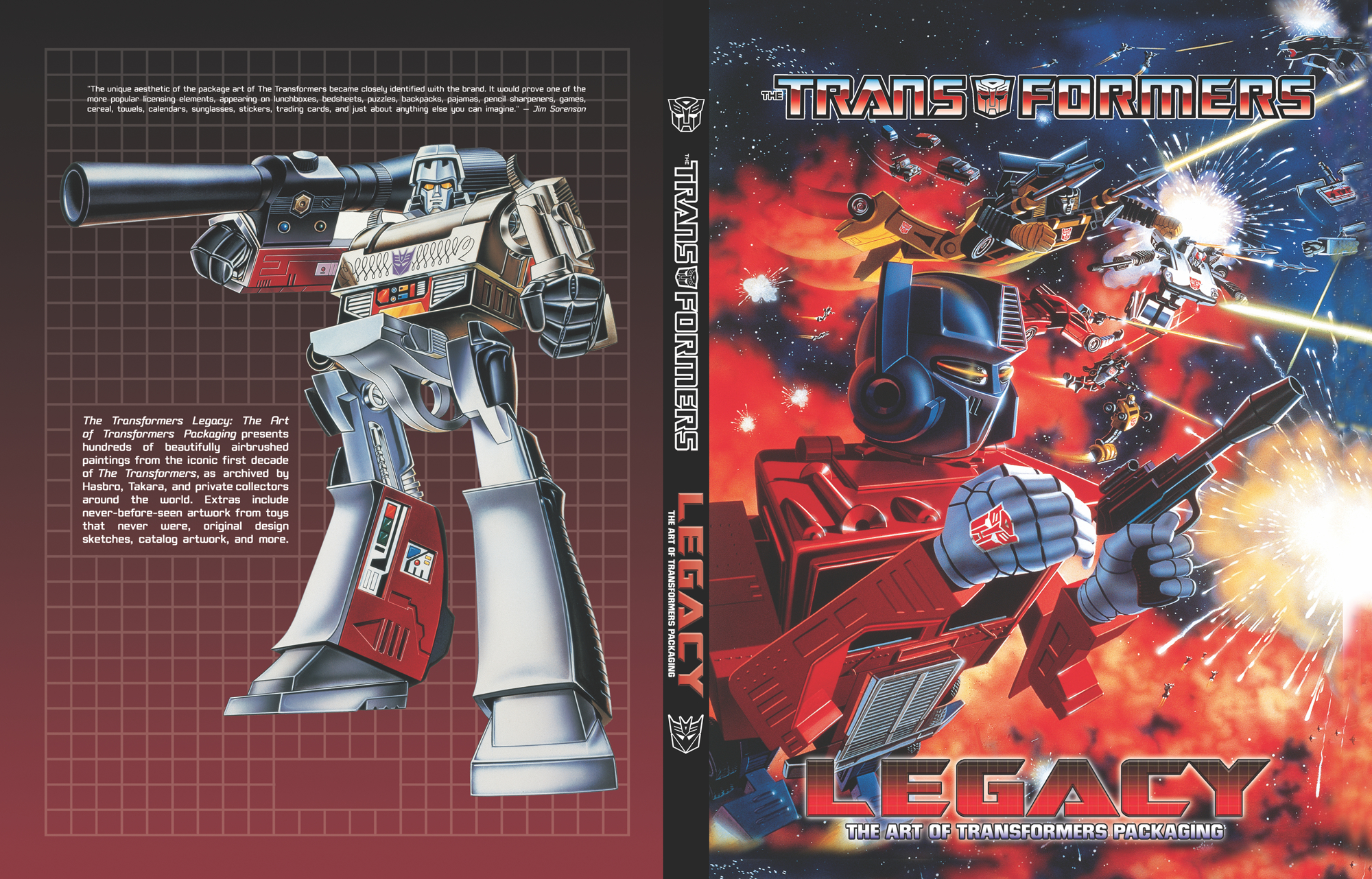 TRANSFORMERS LEGACY ART OF TRANSFORMERS PACKAGING SC