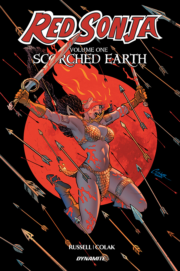 RED SONJA (2019) TP VOL 01 SCORCHED EARTH