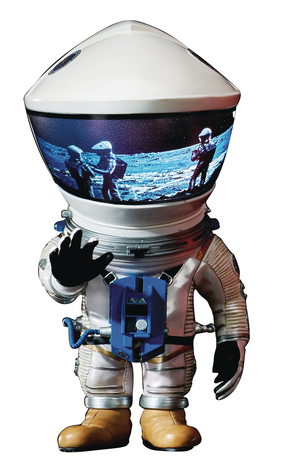 A SPACE ODYSSEY DF ASTRONAUT DEFO REAL SOFT VINYL SILVER VER