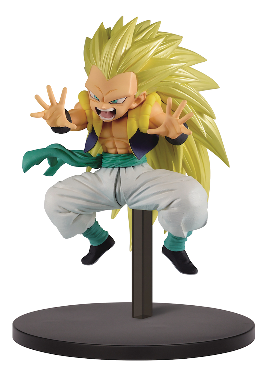 DB SUPER CHOSENSHI RETSUDEN V2 SUPER SAIYAN GOTENKS FIG