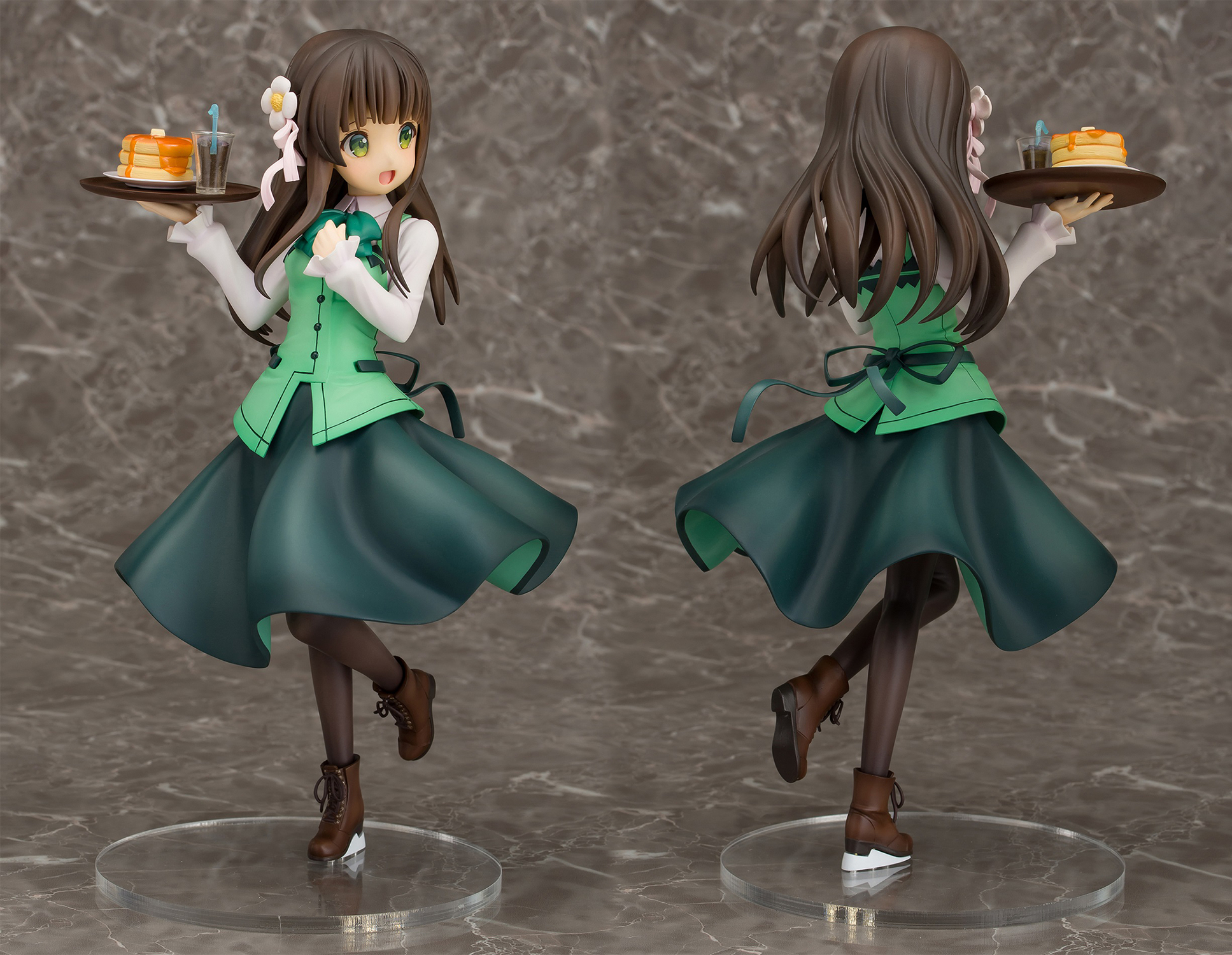 IS THE ORDER A RABBIT CHIYA 1/7 PVC FIG CAFE STYLE