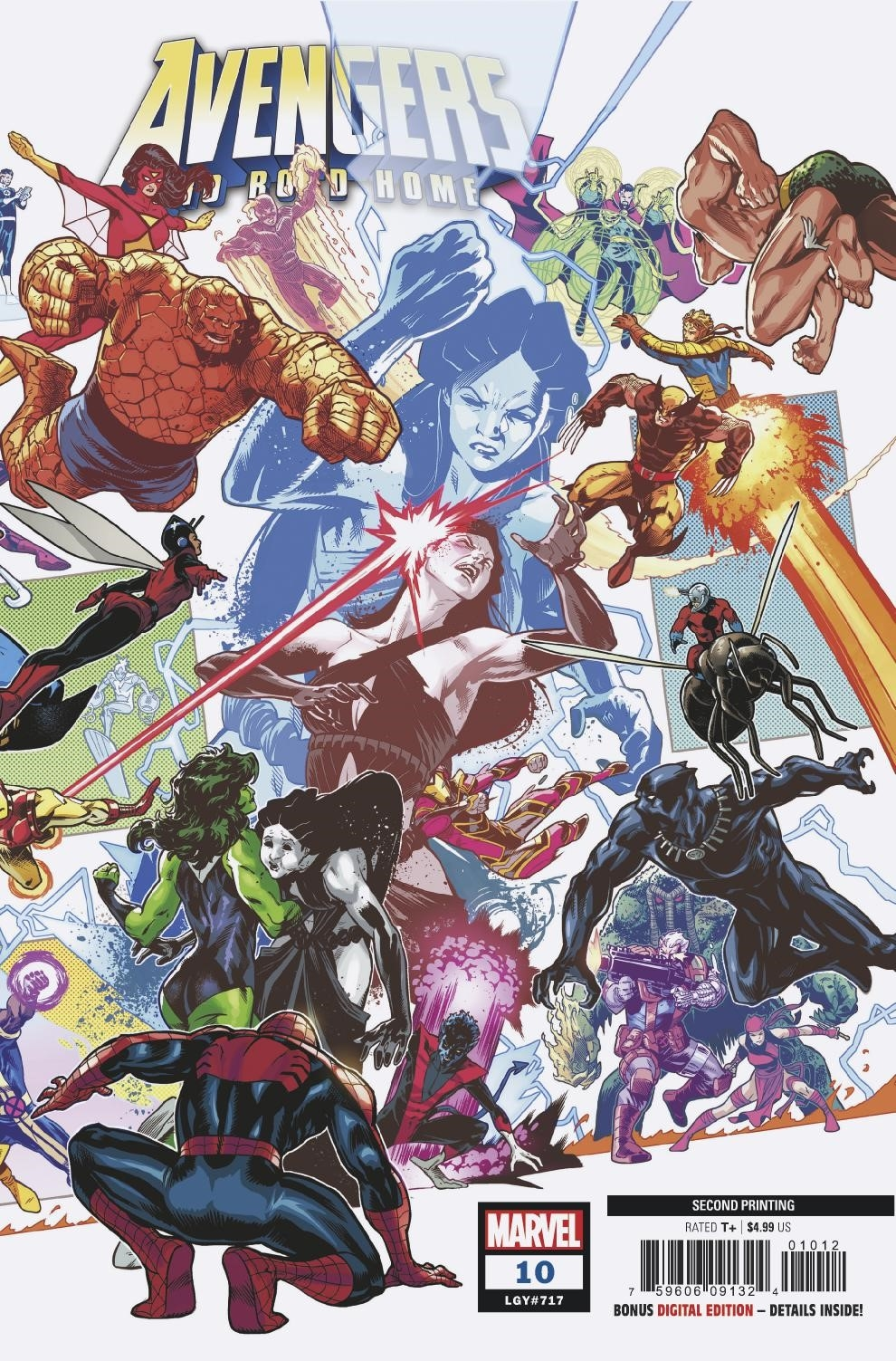 AVENGERS NO ROAD HOME #10 (OF 10) 2ND PTG IZAAKSE VAR