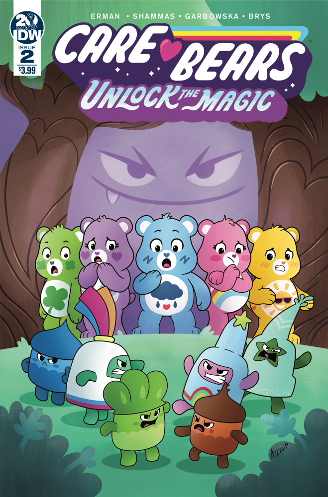CARE BEARS UNLOCK THE MAGIC #2 (OF 3) CVR A GARBOWSKA