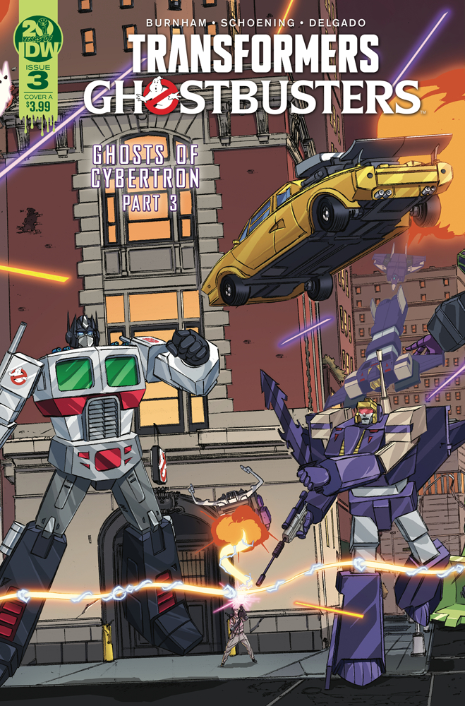 TRANSFORMERS GHOSTBUSTERS #3 (OF 5) CVR A SCHOENING