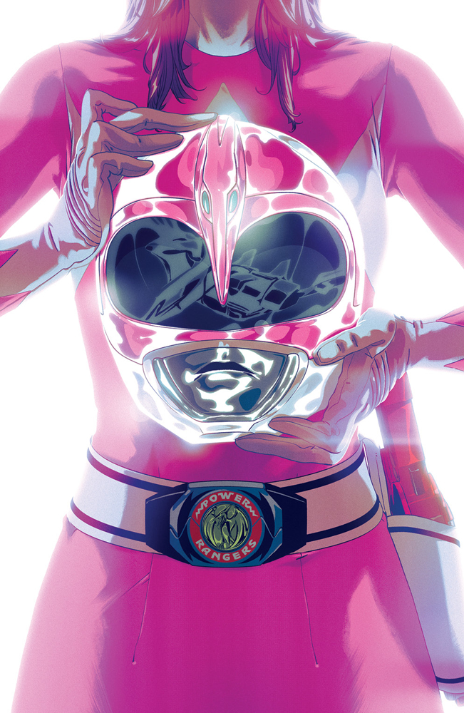 MIGHTY MORPHIN POWER RANGERS #42 FOIL MONTES VAR