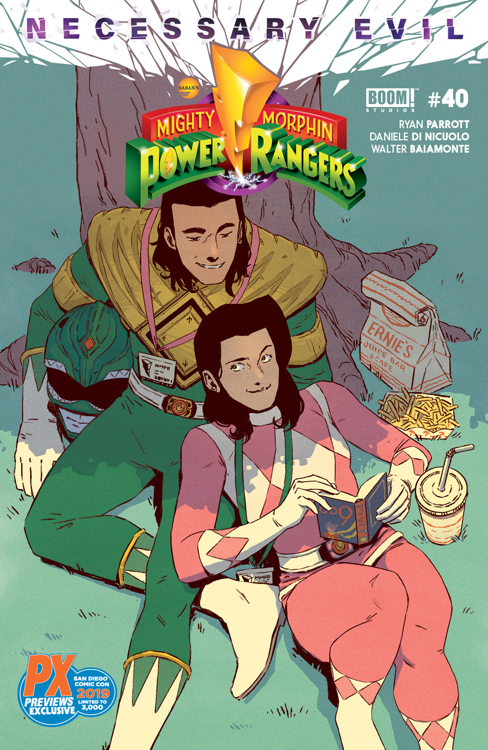 SDCC 2019 MIGHTY MORPHIN POWER RANGERS #40