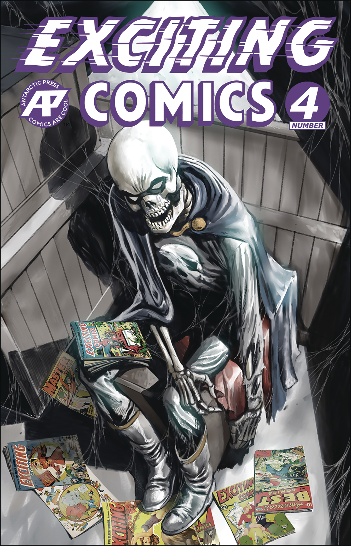EXCITING COMICS #4 CVR A