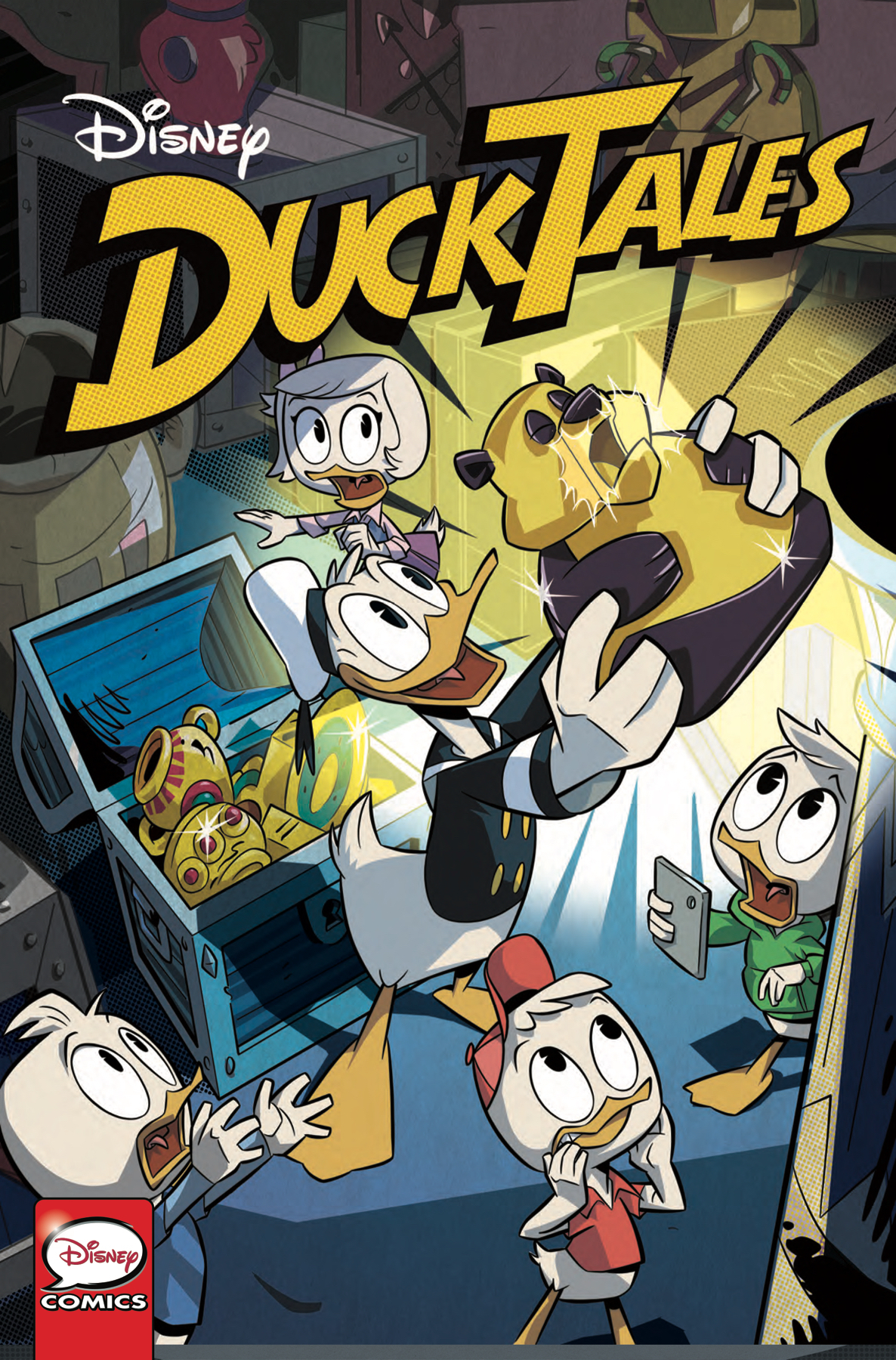 DUCKTALES SILENCE & SCIENCE #1 (OF 3) CVR A GHIGHLIONE