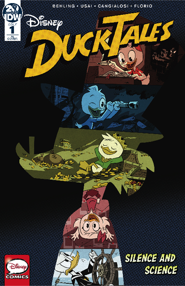 DUCKTALES SILENCE & SCIENCE #1 (OF 3) 10 COPY INCV DUCKTALES