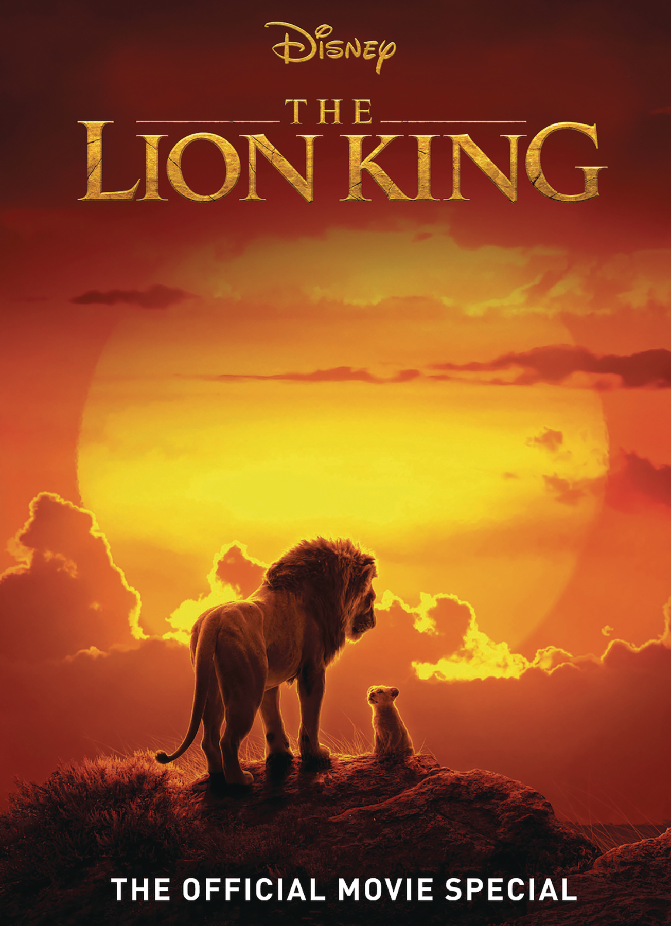 DISNEY LION KING OFF MOVIE SPECIAL HC