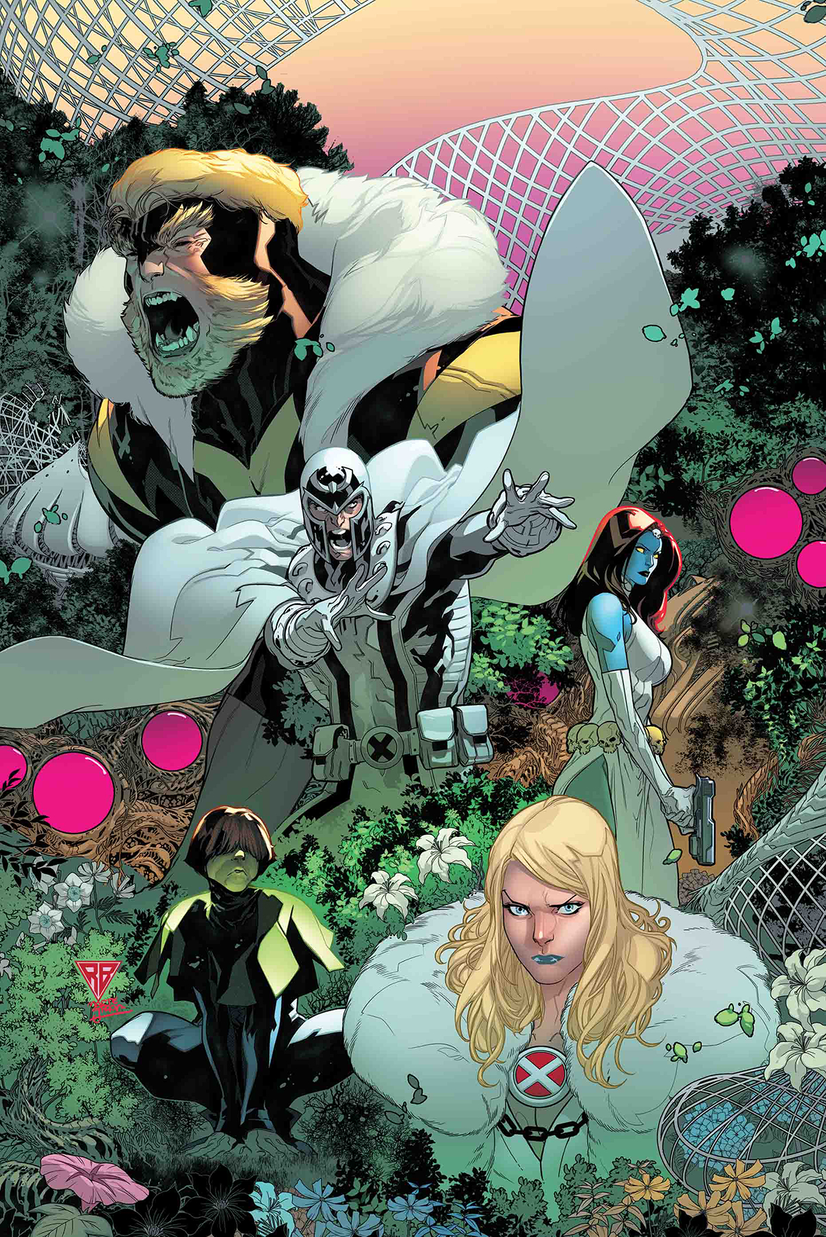POWERS OF X #2 (OF 6)