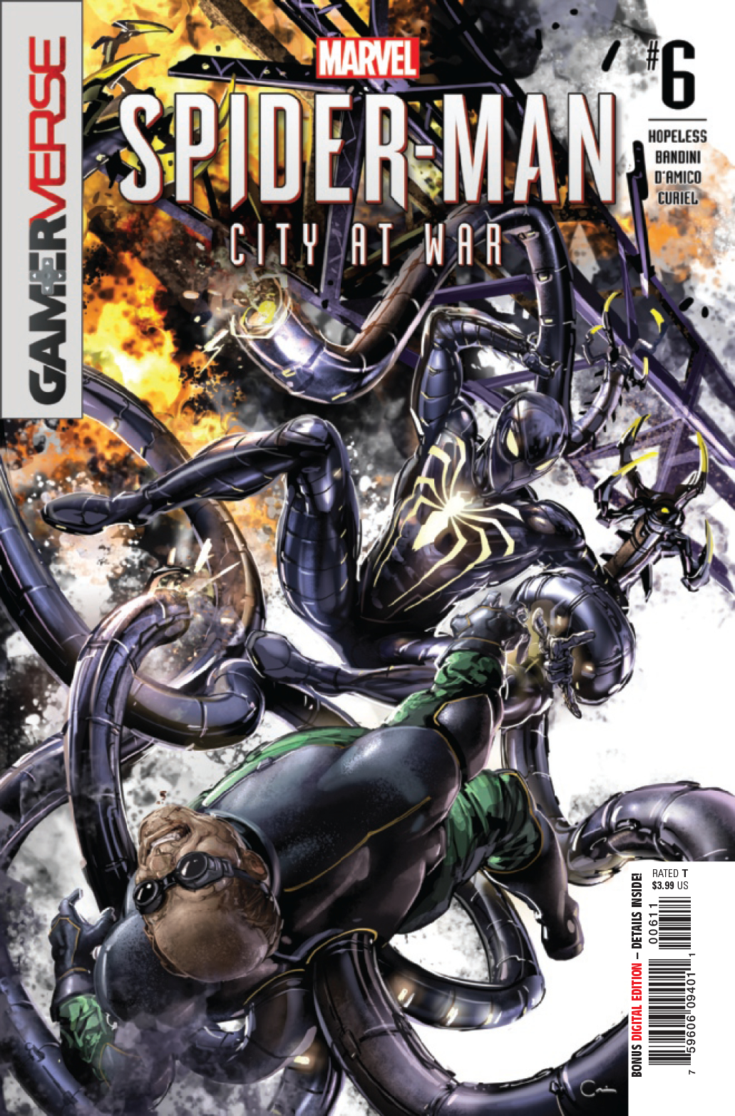 SPIDER-MAN CITY AT WAR #6 (OF 6)