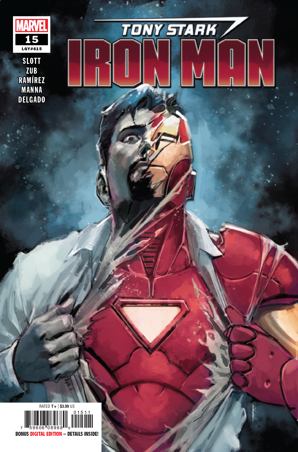 TONY STARK IRON MAN #15