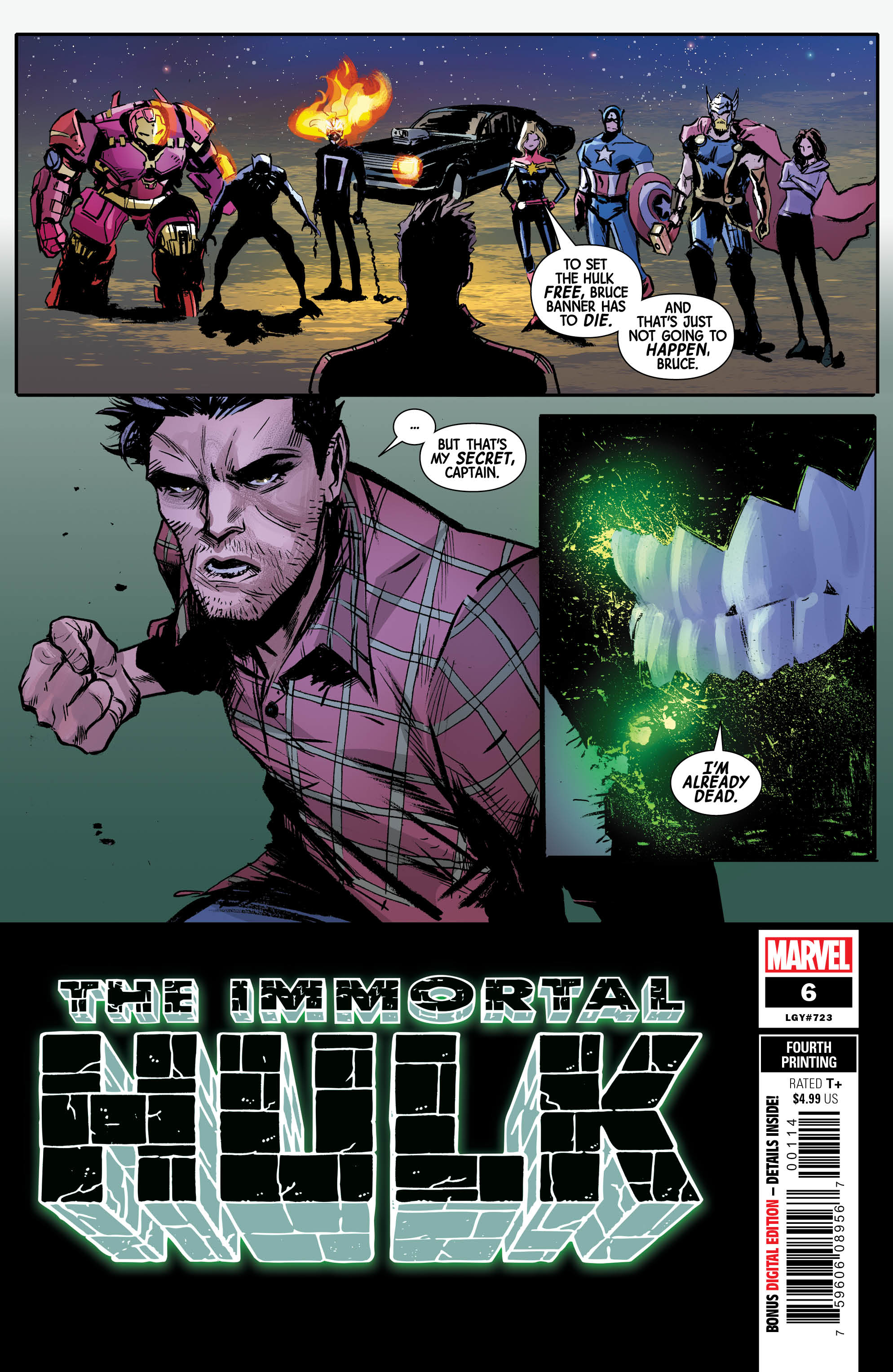 IMMORTAL HULK #6 4TH PTG GARBETT VAR