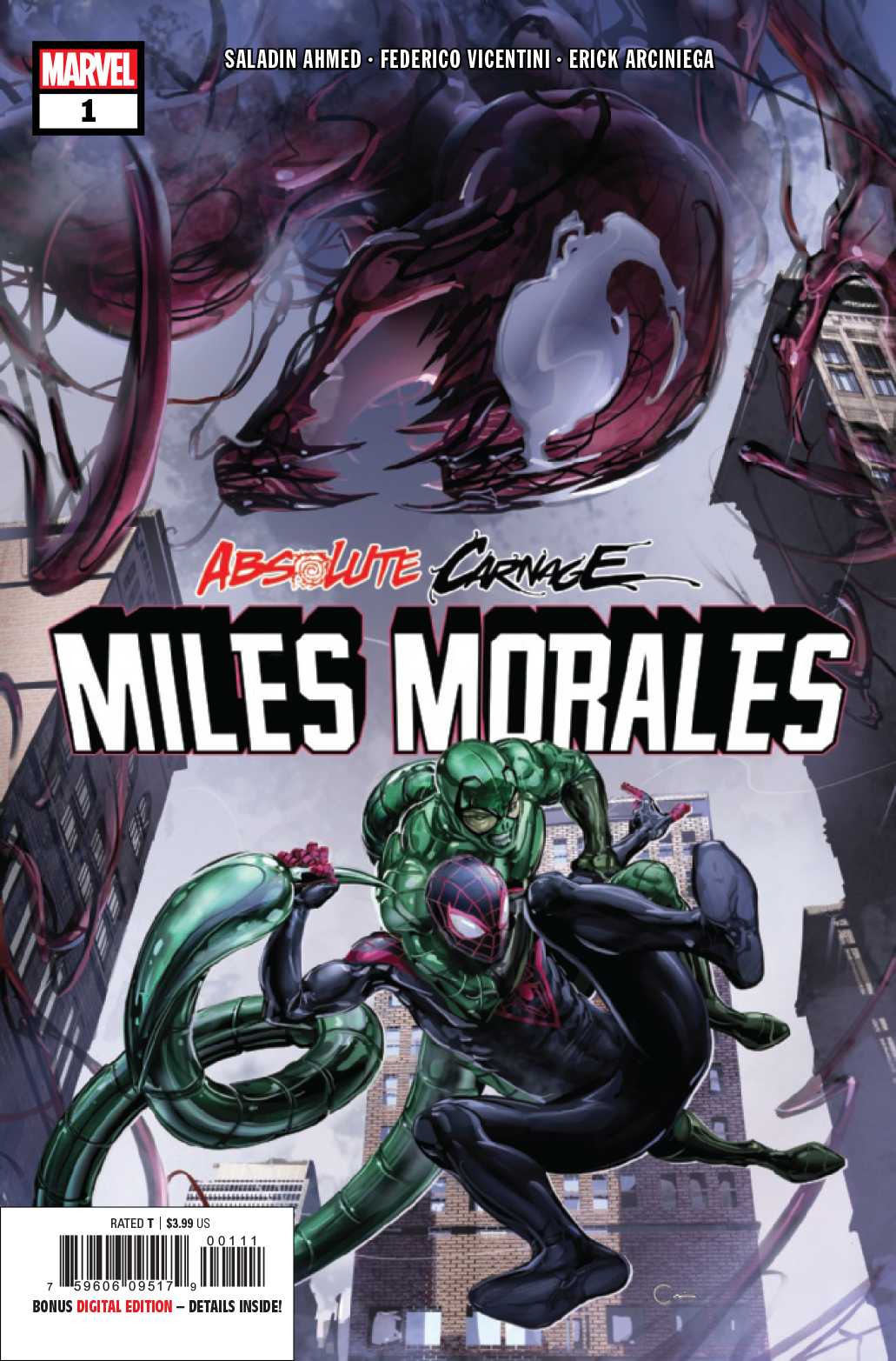 ABSOLUTE CARNAGE MILES MORALES #1 (OF 3) AC