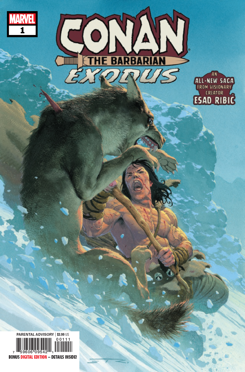 CONAN THE BARBARIAN EXODUS #1