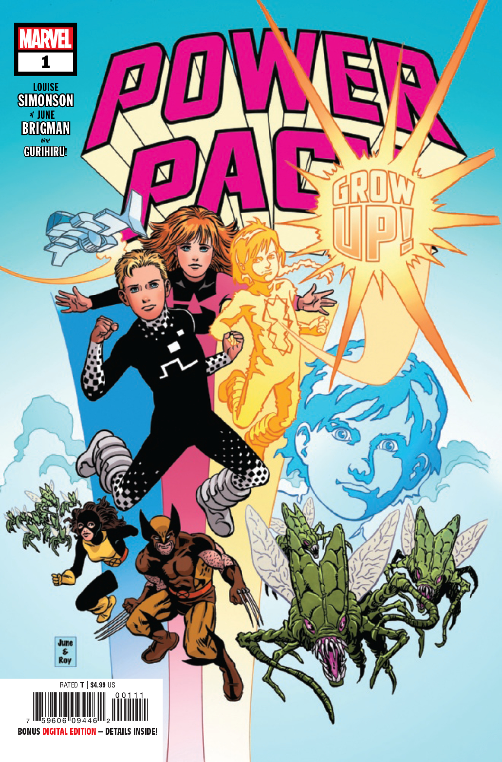 POWER PACK GROW UP #1
