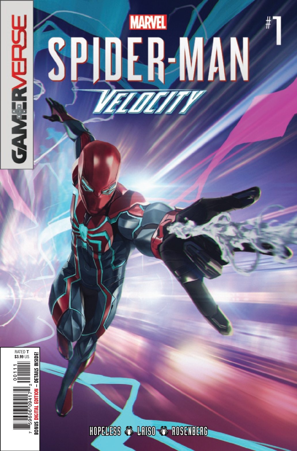 SPIDER-MAN VELOCITY #1 (OF 5)