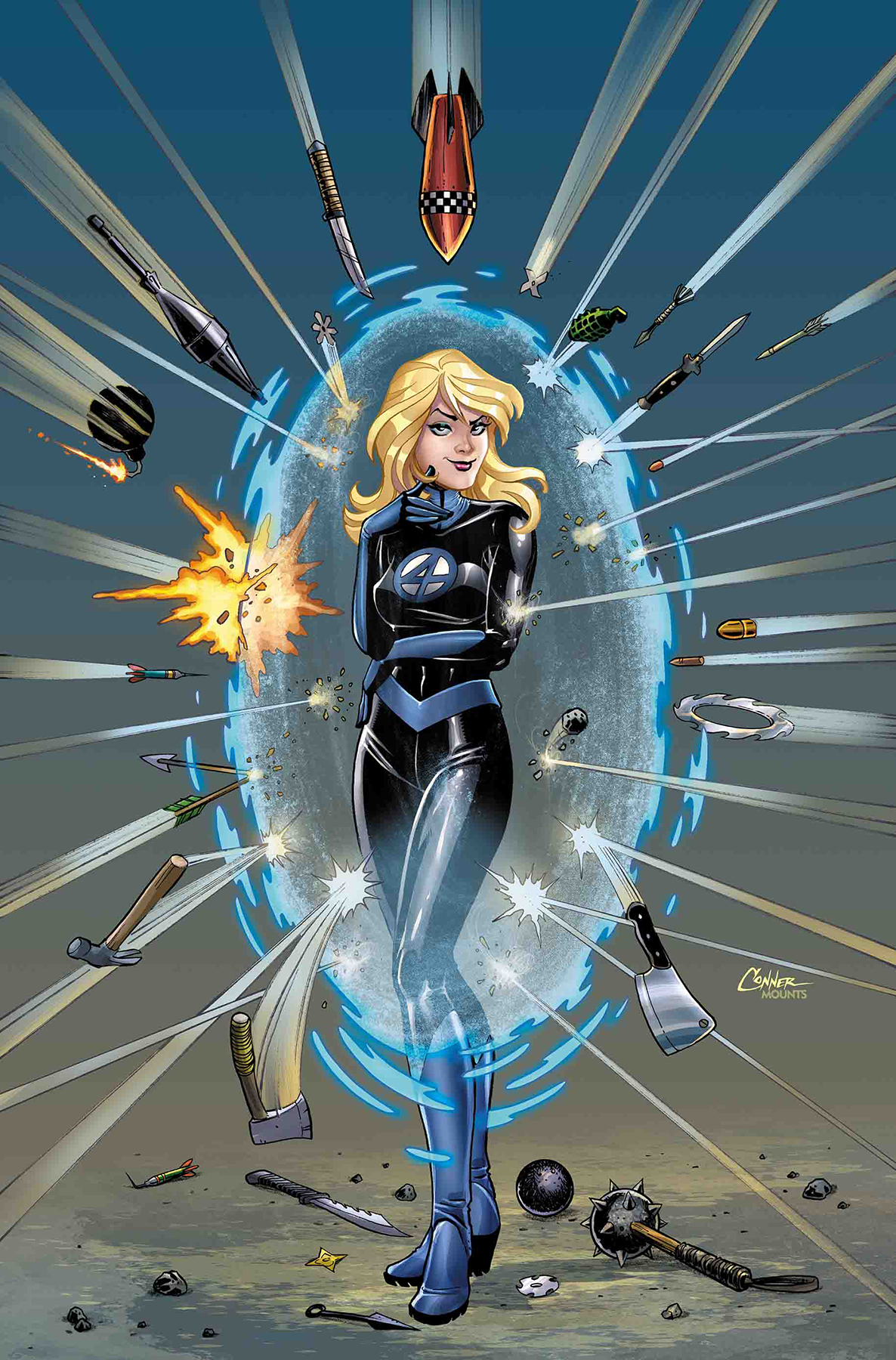INVISIBLE WOMAN #2 (OF 5) CONNER VAR