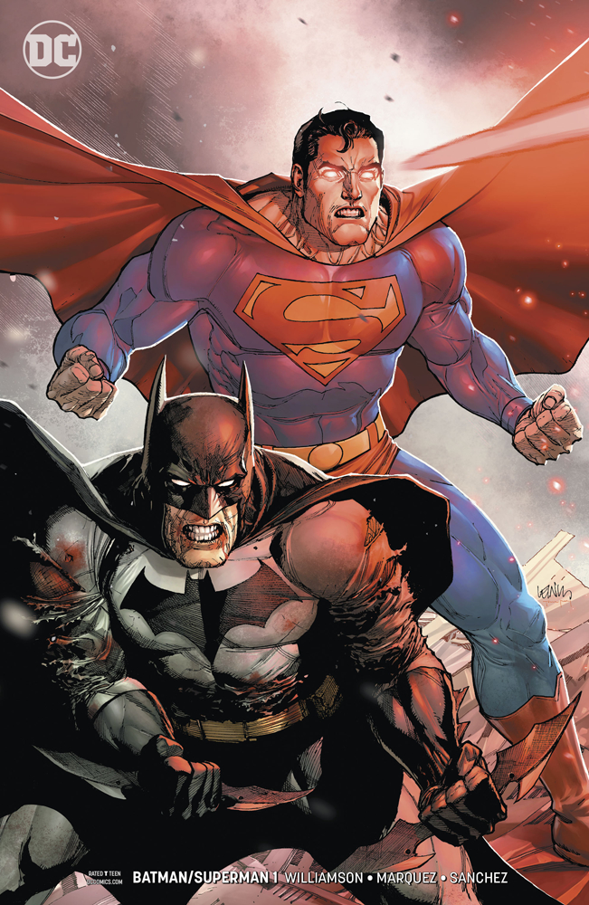 BATMAN SUPERMAN #1 VAR ED